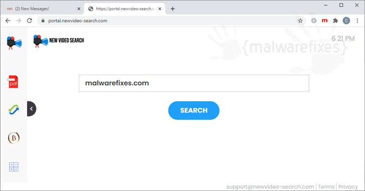 NewVideoSearch Adware