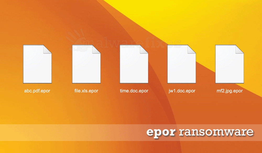 Image of Epor encrypted files