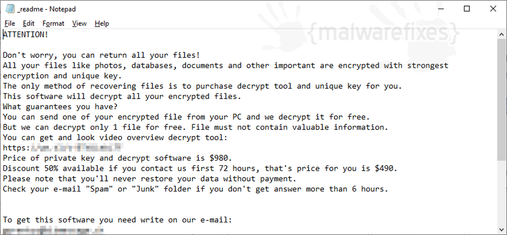 Image of Mmpa ransom note