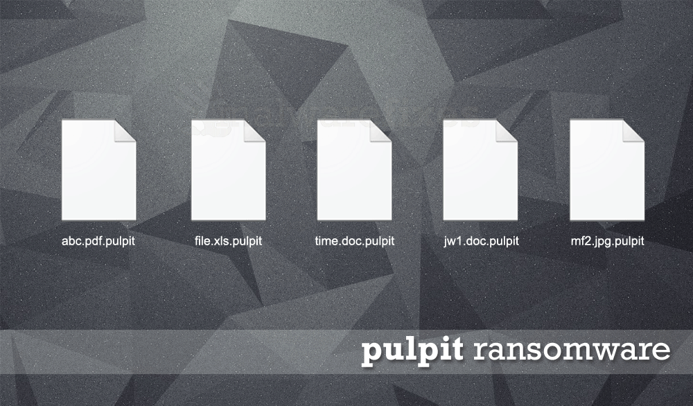 Image of Pulpit encrypted files