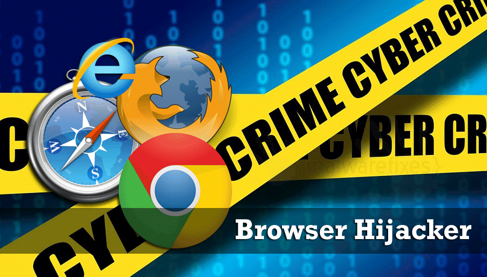 Illustration of Browser Hijacker
