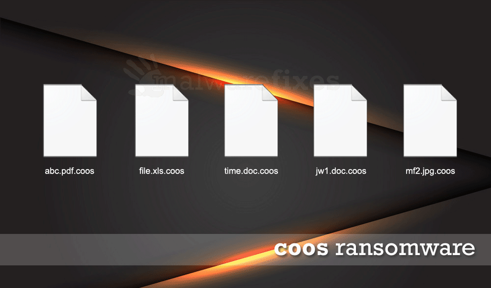 Illustration of Coos encrypted files
