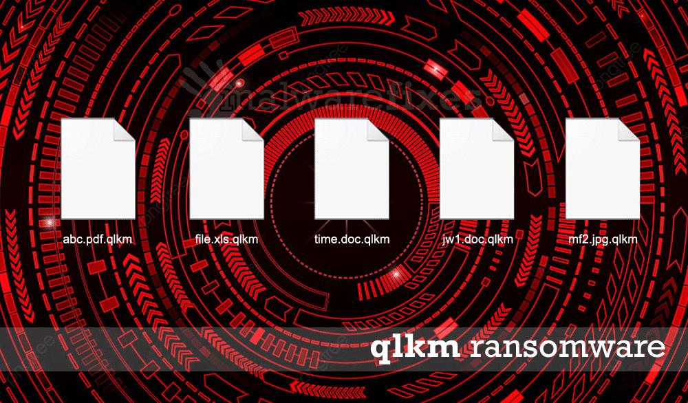 Screenshot of Qlkm encrypted files