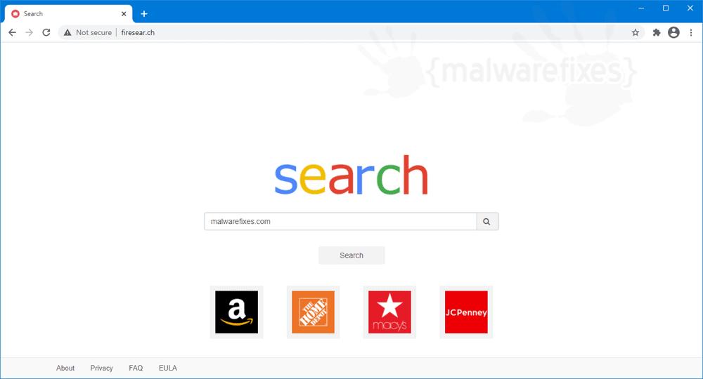 Firesear.ch screenshot image
