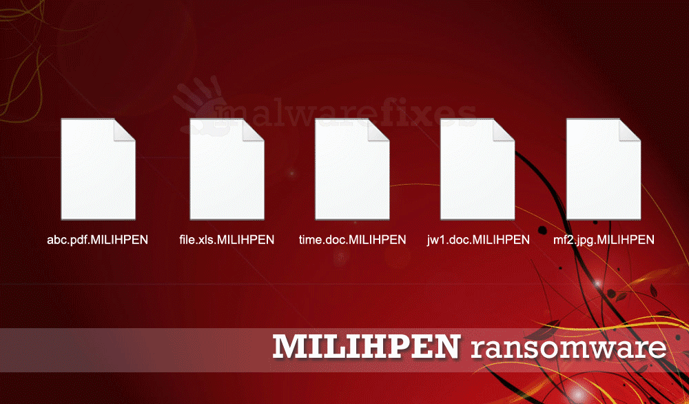 Illustration for MILIHPEN Ransomware