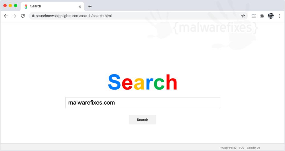 Screenshot of Searchnewshighlights.com