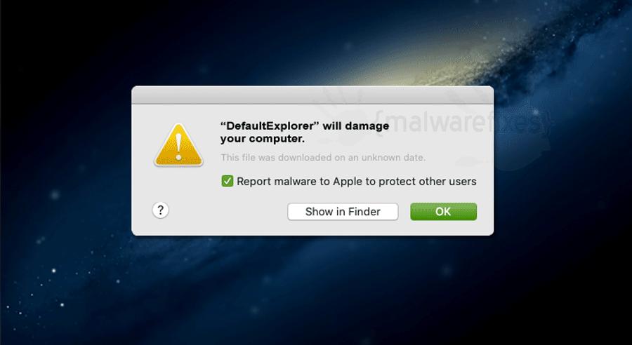 Screenshot of DefaultExplorer App