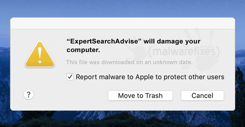 Screenshot of ExpertSearchAdvise app