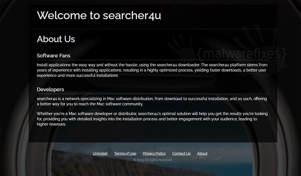 Screenshot of Searcher4u.com