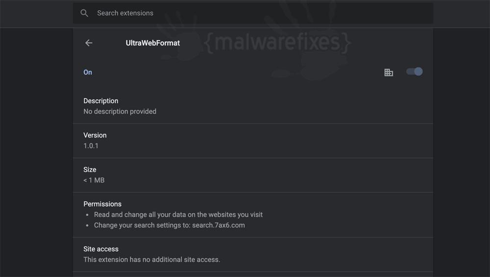 Screenshot of UltraWebFormat for Mac