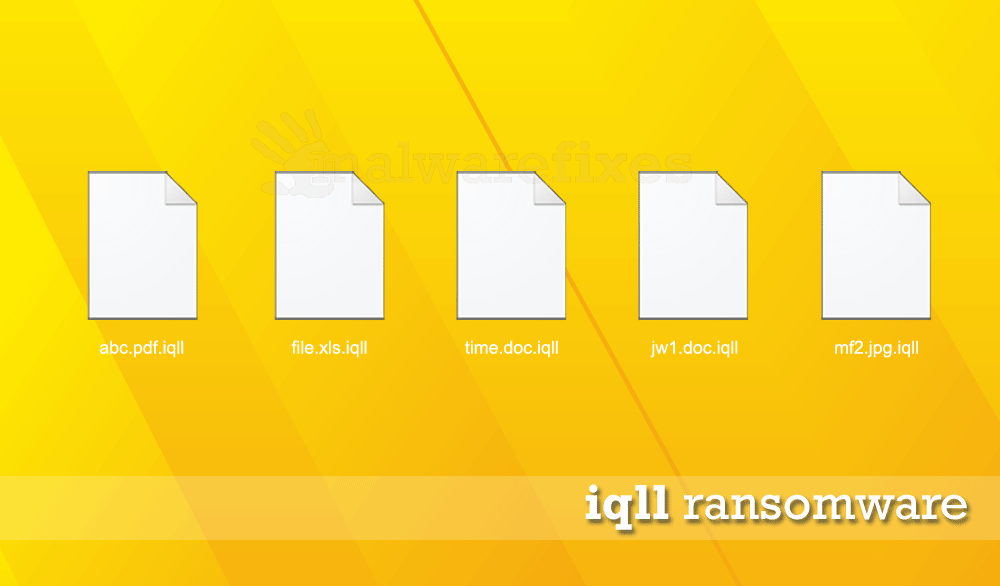 Screenshot of iqll encrypted files