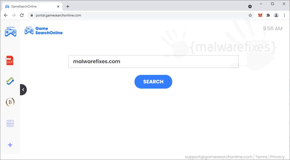 Screenshot of GameSearchOnline.com