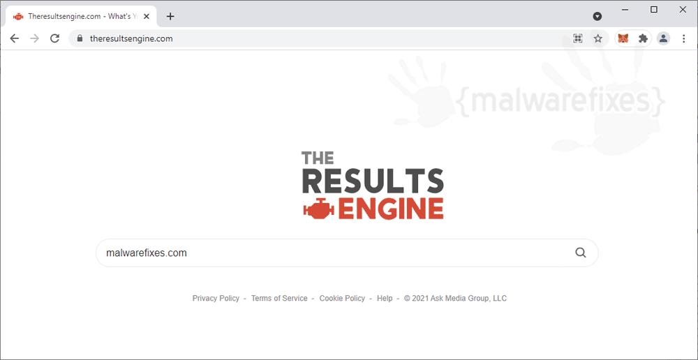Screenshot of Theresultsengine.com