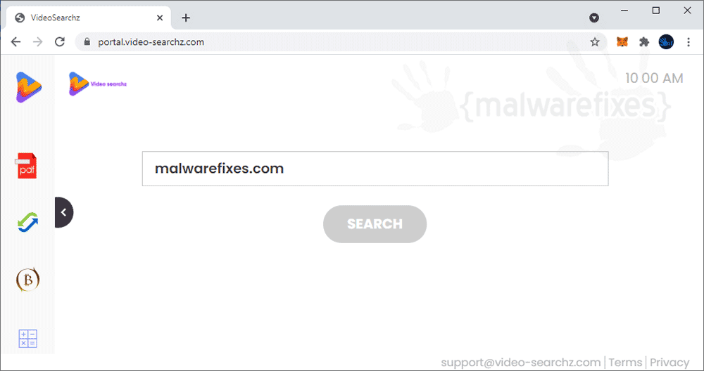 Screenshot of Video-Searchz.com