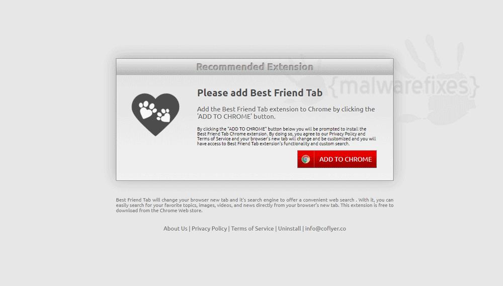 Screenshot of Best Friend Tab
