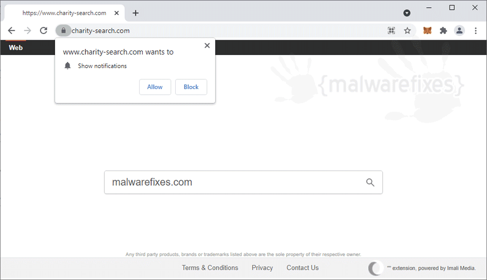 Screenshot of Charity-search.com