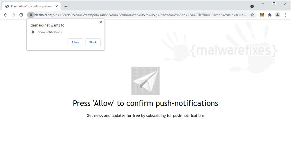Screenshot of Deshaici.net