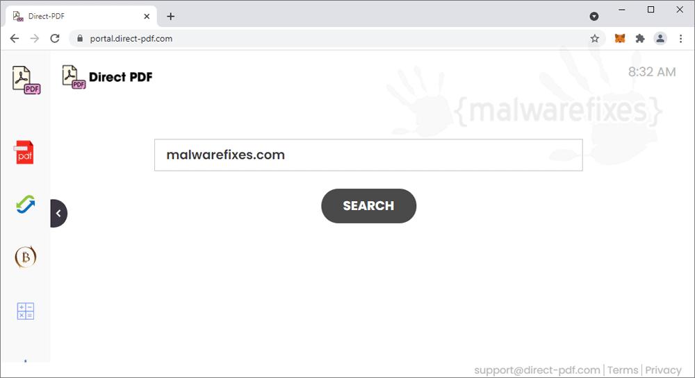 Screenshot of Direct-PDF