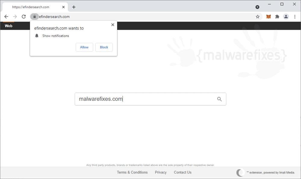 Screenshot of Efindersearch.com