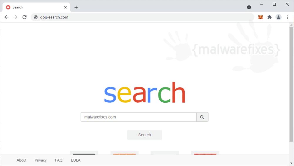 Screenshot of Gog-search.com