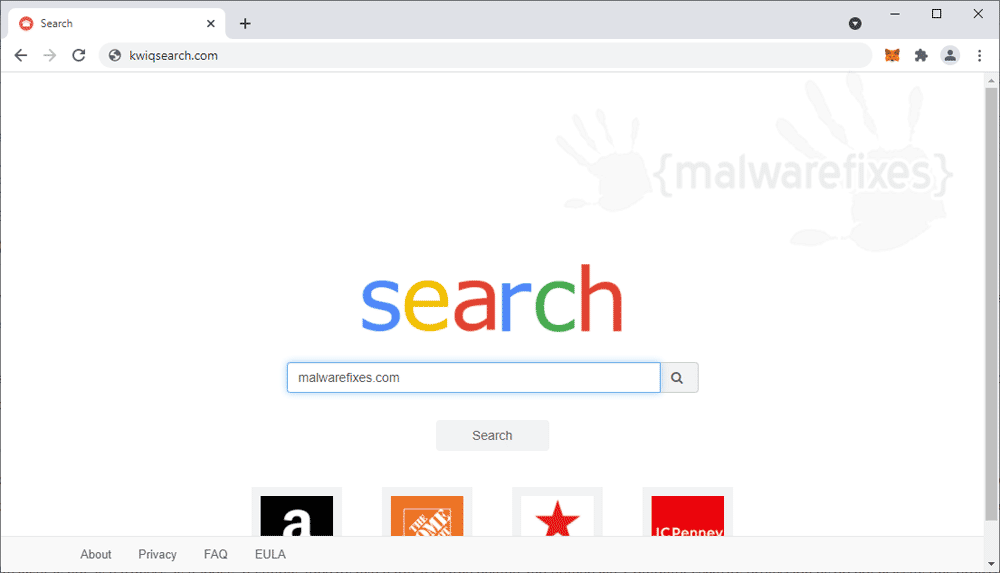 Screenshot of Kwiqsearch.com