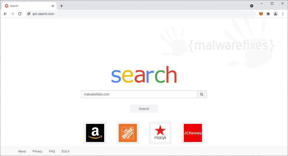 Screenshot of Qm-search.com