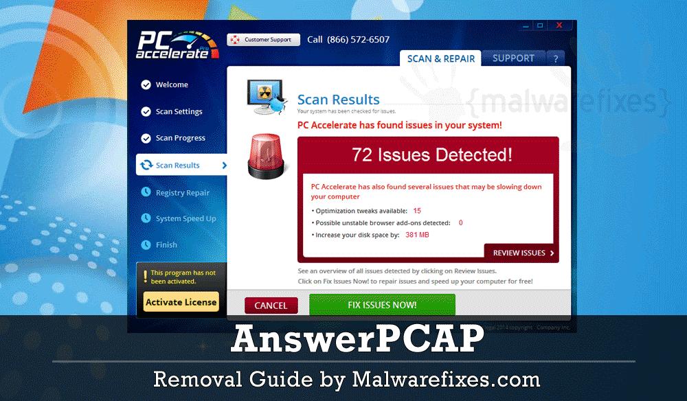 Screenshot of AnswerPCAP