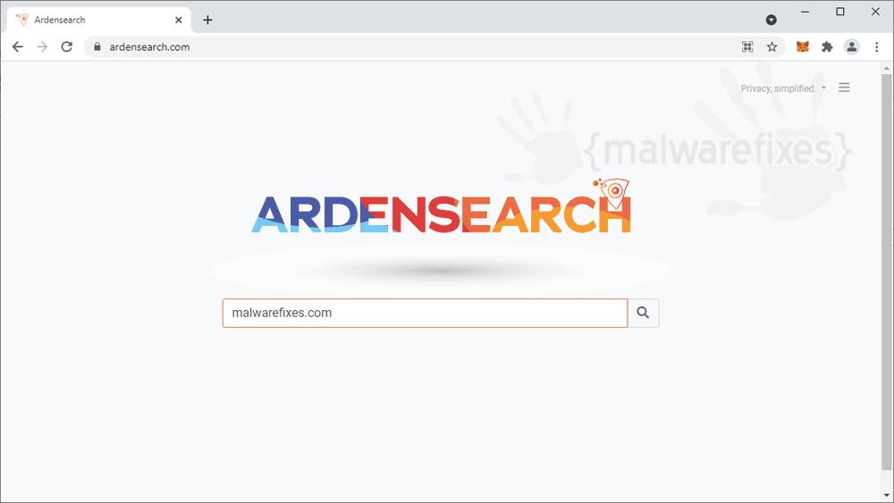 Screenshot of Ardensearch.com