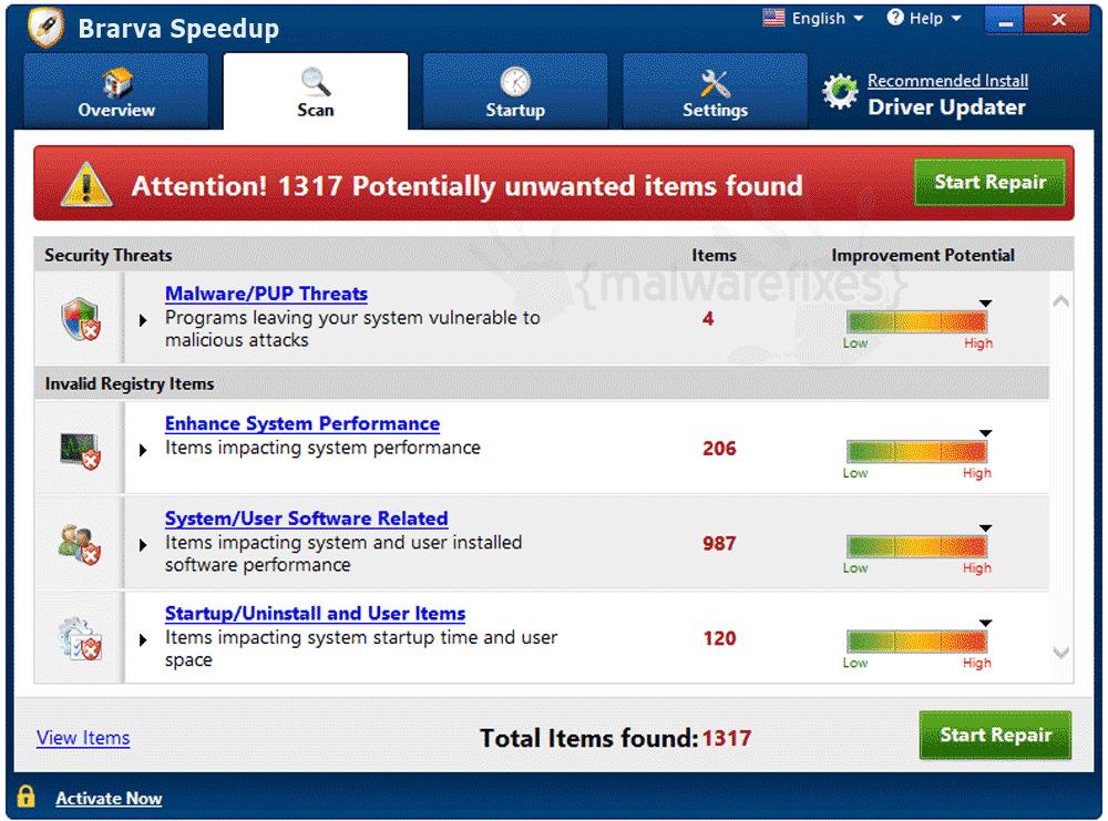 Screenshot of BrarvaSpeedup
