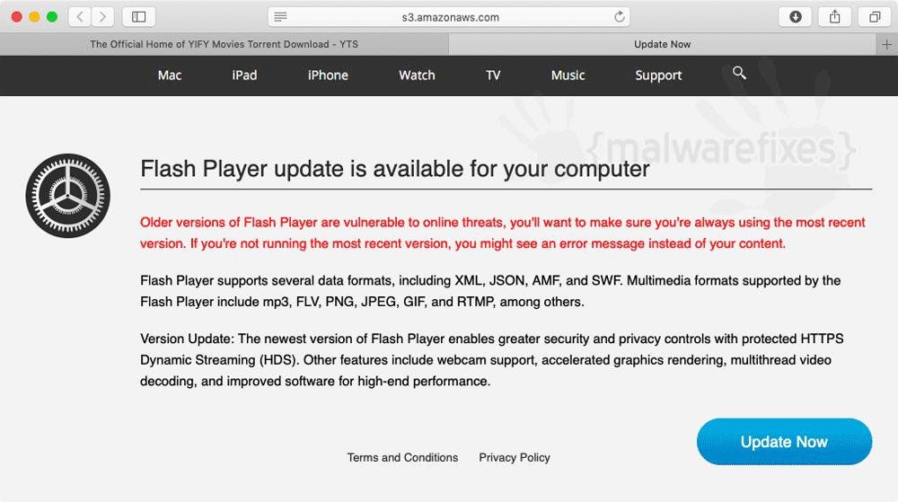 Screenshot of BrowserState App
