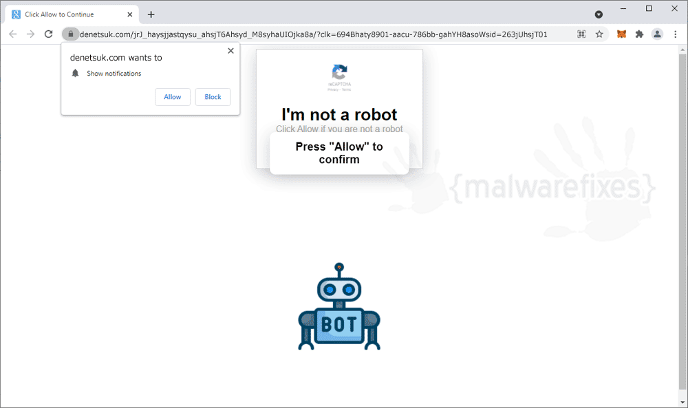 Screenshot of Denetsuk.com