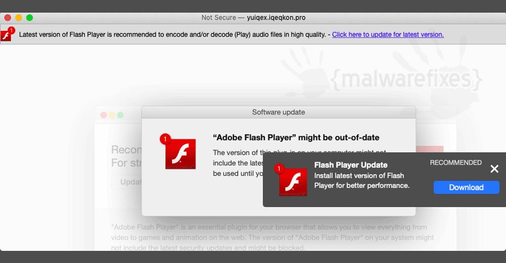 Screenshot of FunctionServer Adware