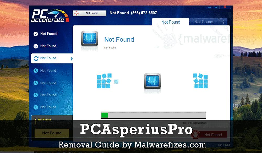 Screenshot of PCAsperiusPro