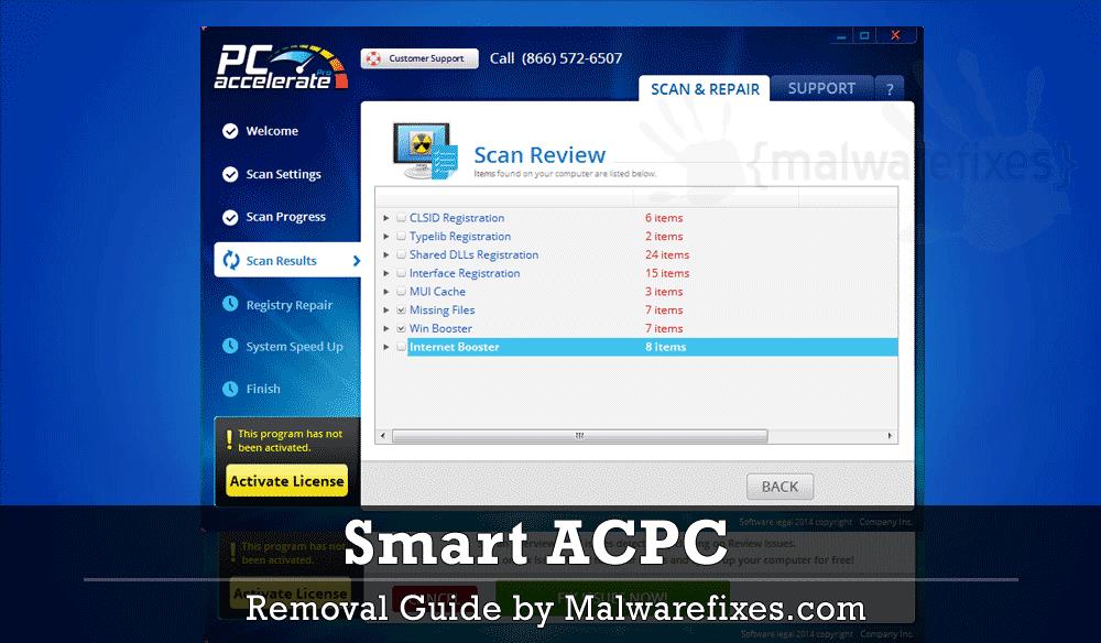 Screenshot of Smart ACPC