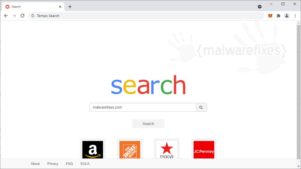 Screenshot of Tempo Search