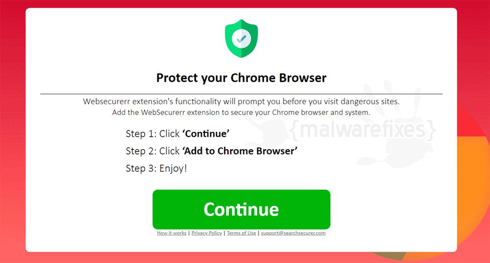 Screenshot of WebSecurerr