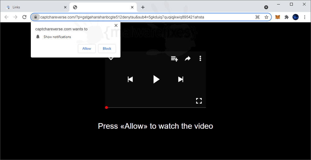Screenshot of Captchareverse.com