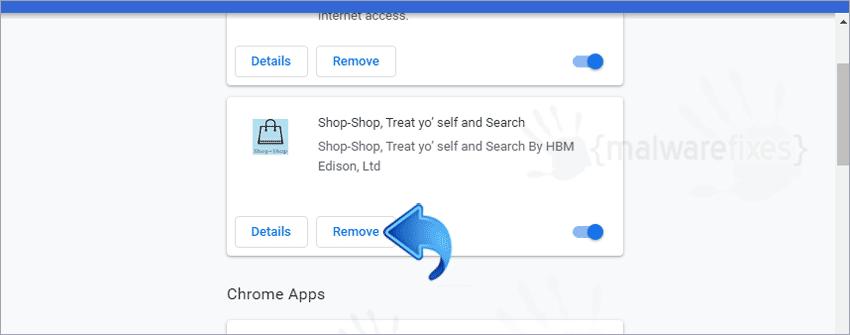 Screenshot of Shop-Shop Extension