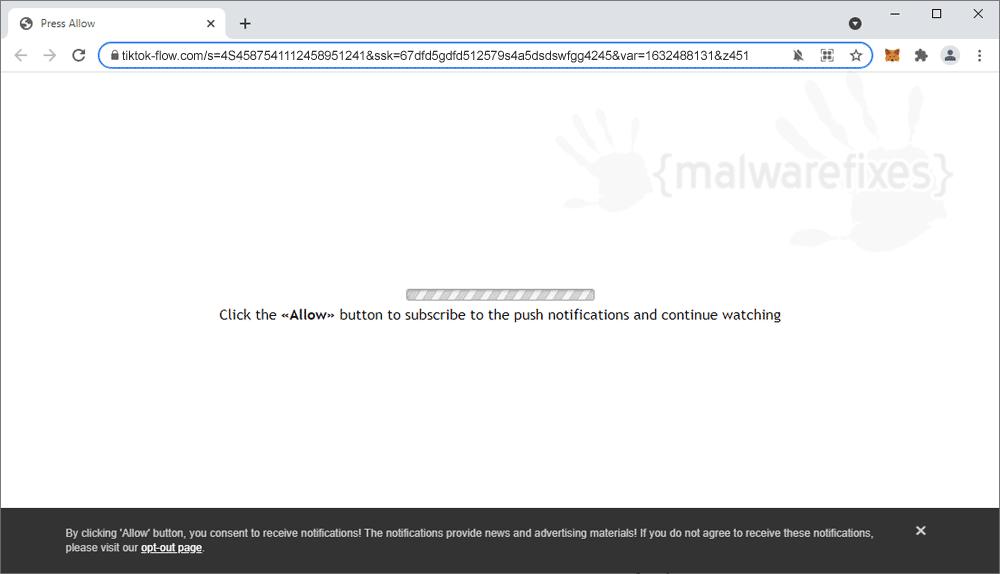 Screenshot of Tiktok-flow.com